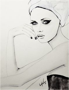 Illustration by Leigh Viner. Love the simplicity of it.