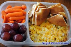 Weight watchers lunches