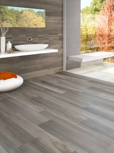 Tavole di Legno is an ink-jet porcelain tile with surface variation and knotting typically found in wooden planks.