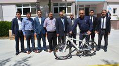 06.Başkent Haber: Şereflikoçhisar'da Obeziteye Karşı Ortaokullara Bisiklet