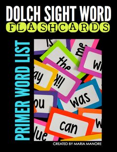 FREE DOWNLOAD to create your own flash card cards