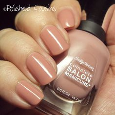 Sally Hansen Pink Pong, on the fench with this one.