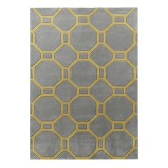 The Anni rug creates a cool, contemporary centre piece for any room. Available in a contemporary combination of grey and yellow or a fresh and modern light blue and ivory option; both of which offer a stunning finishing touch to any room. Yellow Area Rugs, Machine Made Rugs, Hand Tufted Rugs, Living Room Grey, Living Rooms, Floor Decor, Large Rugs, Grey Yellow, Shopping