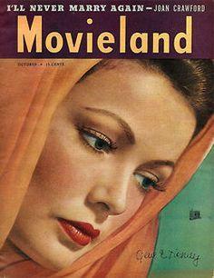 Movieland Oct 1946 - Gene Tierney