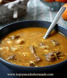 hrira algerienne, recette de harira