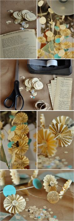 DIY: Printed Paper Garlands