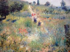 Pierre-Auguste Renoir, Path Leading to High Grass, 1875-76
