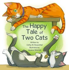 The Happy Tale of Two Cats by Cathy M. Rosenthal Reading Level: Grade K+ From an abandoned house to the animal shelter and eventually to her forever home, a cat finds safety, friendship and love. This book tells a sweet and memorable story of what can happen when caring people in the community all take part in turning an animal's life around. https://www.amazon.ca/dp/B00ECJ1K7M/ref=cm_sw_r_pi_dp_x_J6.wzbPGRS2K5
