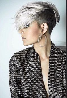 Asymmetric undercut #asymmetrichair | short hair |