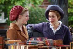 Romola Garai (Emma Woodhouse) & Jodhi May (Mrs. Weston, formerly Miss Taylor and Emma's governess for 16 years ) - Emma directed by Jim O'Hanlon (TV Mini-Series, 2009) #janeausten