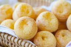 Brazilian Cheese Bread (Pão de Queijo) I usually make a different recipe. Gonna try this one