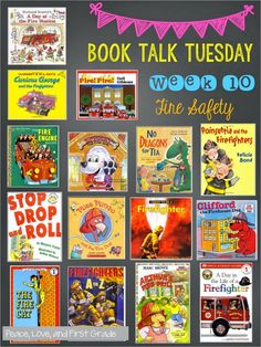 Peace, Love and First Class: 15 fire safety books for children – fire prevention… Peace, Love and First Class: 15 Fire Protection Books for Children – Fire Protection … – Child Health – # Preschool Books, Preschool Crafts, Kids Health, Children Health, Fire Safety Week, Fire Prevention Week, Creative Teaching, Teaching Ideas, Toddler Books