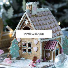 Piparkakkutalo Xmas, Christmas, Gingerbread, Desserts, Food, Tailgate Desserts, Deserts, Weihnachten, Weihnachten