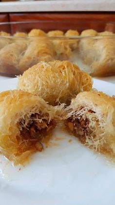 Greek Sweets, Greek Desserts, Turkish Recipes, Greek Recipes, Cookbook Recipes, Cooking Recipes, Brunch Recipes, Dessert Recipes, Greek Cookies