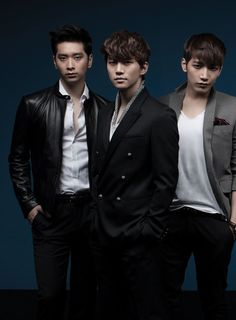 Chansung, Junho, Junsu - K Wave Magazine July Issue 13