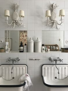interesting all-white bathroom