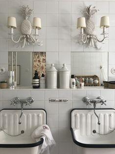 interesting all-white bathroom