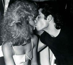 Olivia Newton-John and John Travolta at Studio 54 in 1978.
