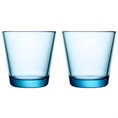 Kartio glas 21 cl 2 stk - lyseblå - Iittala