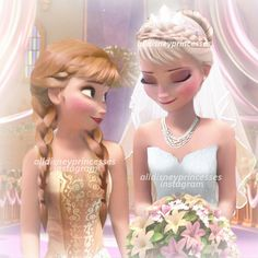 @alldisneyprincesses Elsa's wedding (w...Instagram photo | Websta (Webstagram)