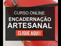 Encadernação Artesanal Passo a Passo: Album Artesanal (Curso de Encadernação Artesanal) - YouTube