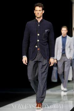 Giorgio Armani Menswear Spring Summer 2013 Milan