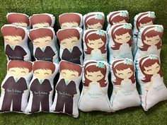 customized pillows best for birthday / baptismal / wedding give aways party favors  11 in height order in bulk so i can give you discounts 20 pcs minimum order