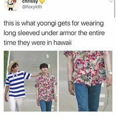 """14.7k Likes, 119 Comments - ✧⁘☽ spam @taesforever ☾⁘✧ (@pandawithnojams) on Instagram: """"and jungkook looking tan as heck"""""""