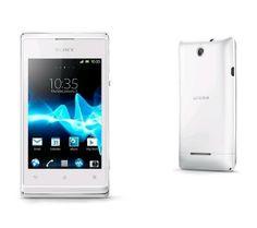 /** Priceshoppers.fr **/ Smartphone Xperia E - blanc - Smartphone
