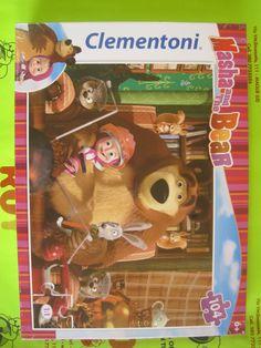 Puzzle Masha and the Bear 104 pezzi