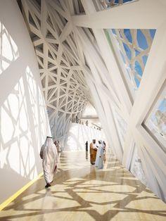 Crescent Moon Tower, der Wolkenkratzer der Zukunft im Himmel über Dubai?