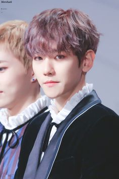 Baekhyun - 161202 2016 Mnet Asian Music Awards, red carpet Credit: Merobaek.