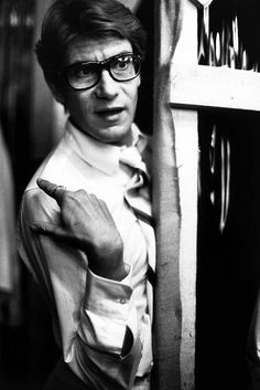 Yves Saint Laurent * Paris, 1977 photo Eve ARNOLD