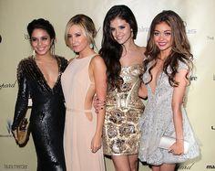 After party de los Golden Globes 2013 -Vanessa Hudgens, Ashley Tisdale, Selena Gomez y Sarah Hyland