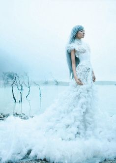 "Dara Warganegara in ""Immaculate Dream"" for Dewi Magazine 2012 photographed by Nicoline Patricia Malina"