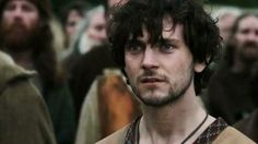 Athelstan (from The History Channel's Vikings & played by George Blagden) is gorgeous.