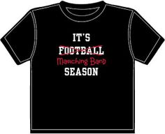 band geek, march season, band season, football season, marching band tshirts, season tshirt