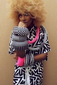 British Afro-Punk Songstress Ebony Bones for Ghubar Magazine March 2012 // #fashion #photography
