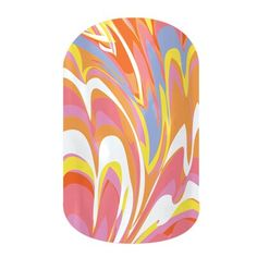 Jamberry- Marble Me Pink