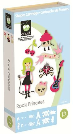 Cricut® Rock Princess Cartridge