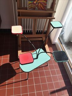 #Vintage plant stand end 50s begin 60s - for sale