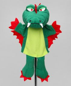 Take a look at this Dragon Hand Puppet by Clap Clap on #zulily today!