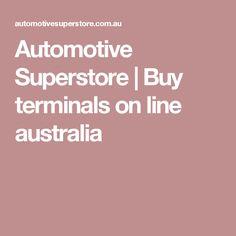 Automotive Superstore   Buy terminals on  line australia