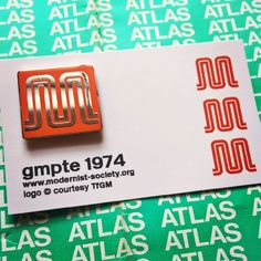 There's a great legacy of transport logos across the world and here at  Modernist HQ we've decided to celebrate our own local transport authority  by reproducing the excellent 'M' designed in 1974 for GMPTE (Greater  Manchester Passenger Transport Executive).  Designed by Kenneth Hollick for th