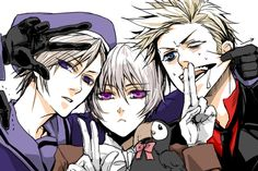 Hetalia APH - Nordics Iceland, Norway, and Denmark