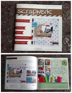 """Yippieh! Neulich steckte das neue """"Scrapwerk""""-Magazin bei uns im Briefkasten. Wir waren schon ganz gespannt, weil einige der Designerinnen mit unseren Wertmarken kreativ geworden sind und wir zudem eine unserer ersten """"richtigen"""" Anzeigen geschaltet haben. Das Ergebnis: Klasse! Schöne Kreationen, Anzeige passt gut und das Magazin ist echt obervoll mit guten Ideen. Schön. http://scrapwerkmagazin.blogspot.de/"""