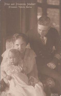 Prinz Adalbert und Prinzessin Adelheid von Preussen | by Miss Mertens