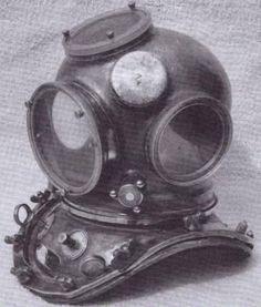 Yokohama Diving Helmet From Japan Sea Diving, Padi Diving, Scuba Diving Gear, Diving Suit, Helmets For Sale, Deep Sea Diver, Statue Tattoo, Helmet Head, Dive Mask