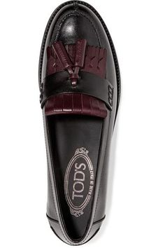 Tod's - Two-tone Leather Loafers - SALE20 at Checkout for an extra 20% off