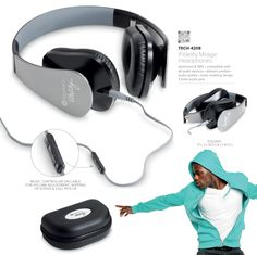 Branded headphones make for wonderful corporate gifts in South Africa, get yours today. Latest Gadgets, Gadget Gifts, Corporate Gifts, South Africa, Headphones, Technology, Awesome, Tech, Headpieces